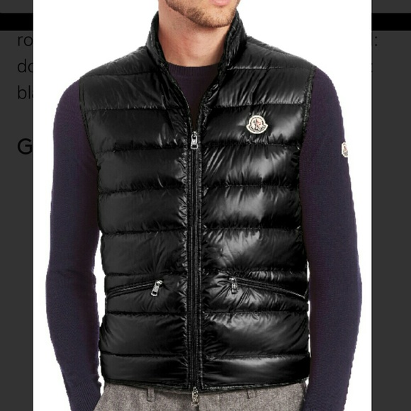 134e37cef9fbde Moncler Jackets & Coats | Gui Gilet Quilted Down Vest Size M | Poshmark